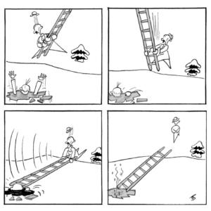 Expositie De zoektocht van een cartoonist - Ton Smits 100